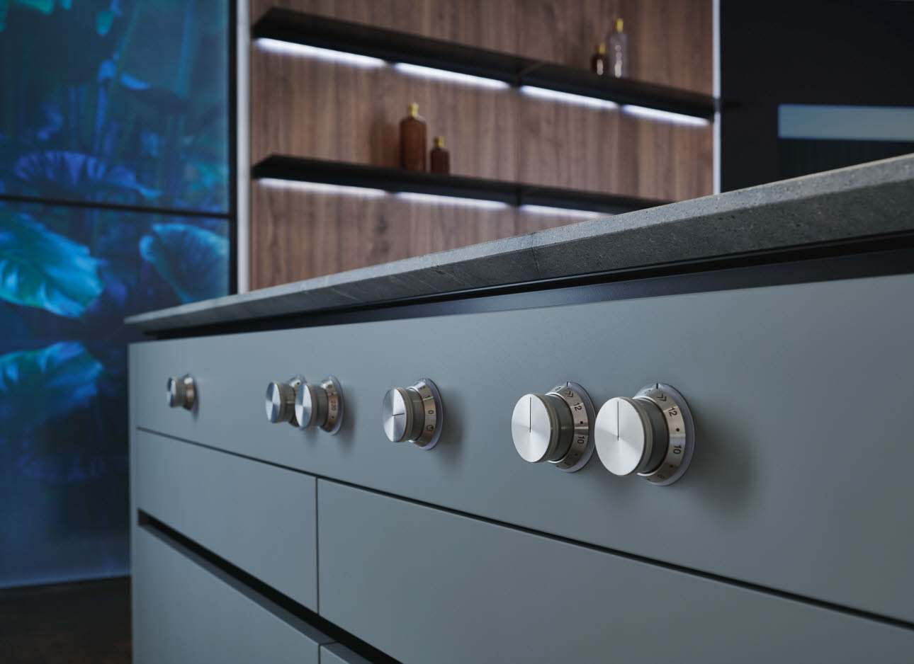 puristic design kitchen