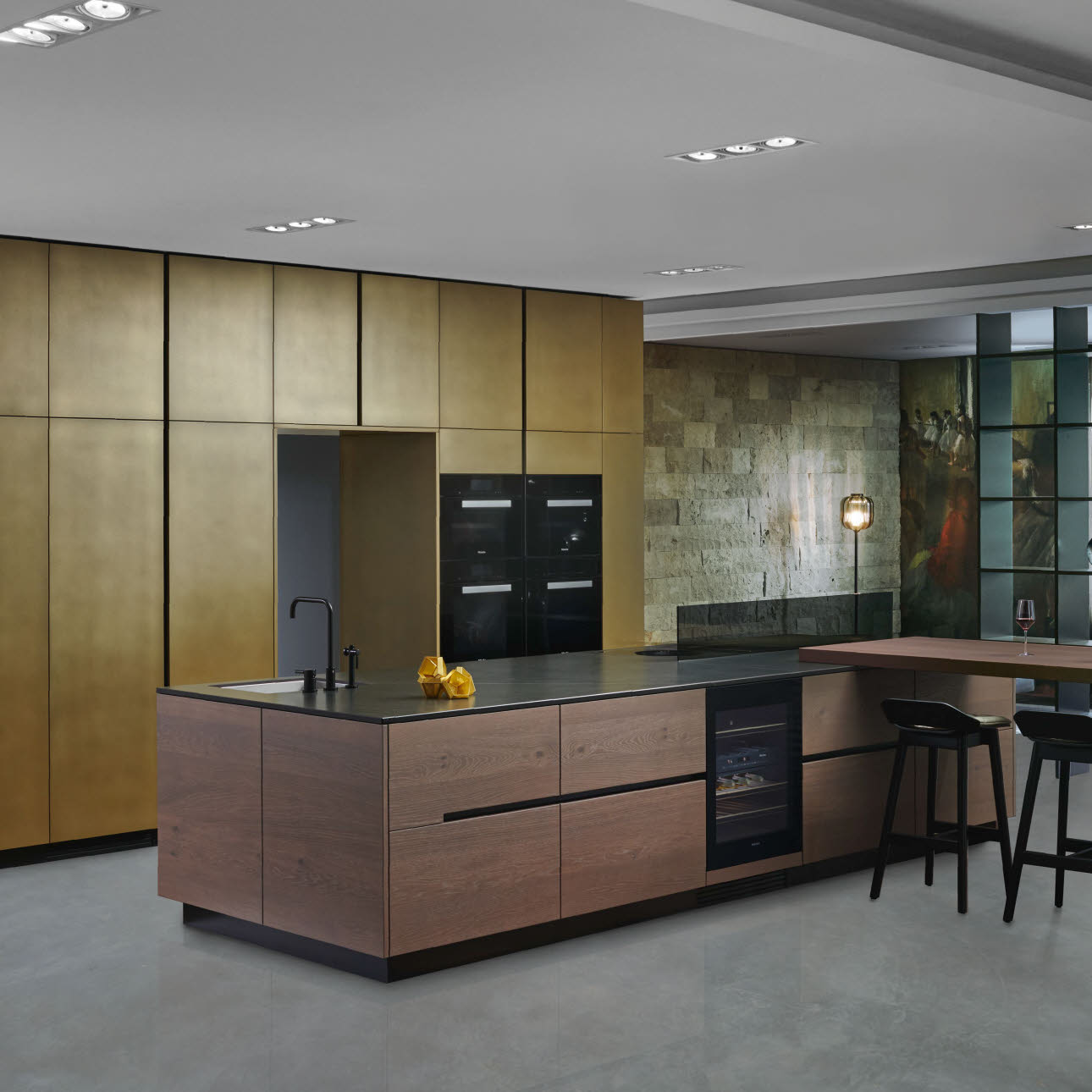 Industrial Design Kitchen Intuo