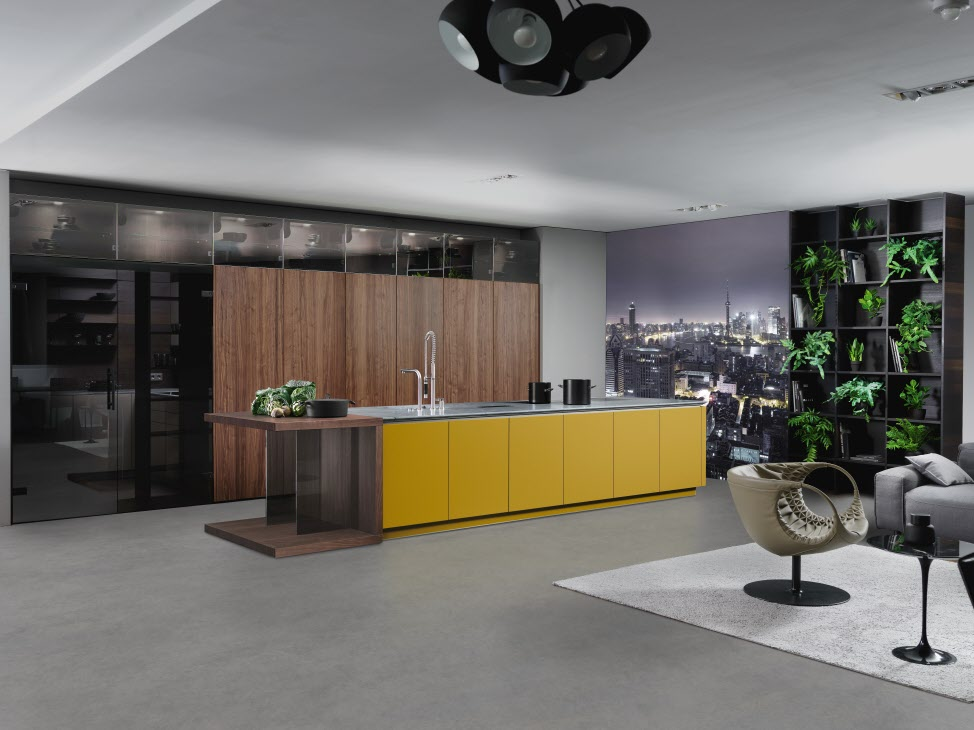 yellow INTUO kitchen