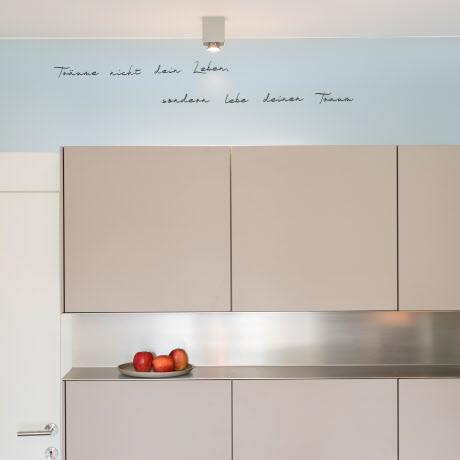 kochen und wohnen in harmonischem einklang. Black Bedroom Furniture Sets. Home Design Ideas