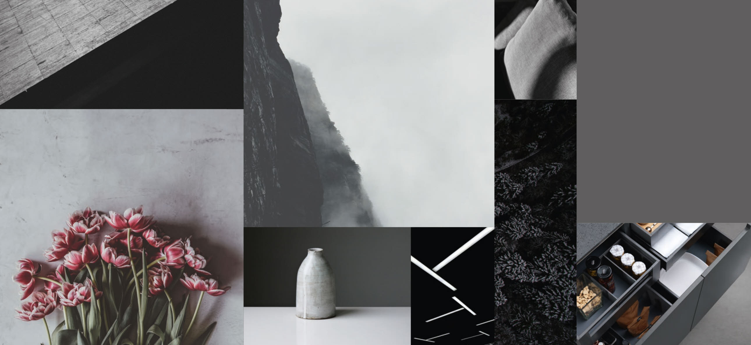 moodboard anthracite grey